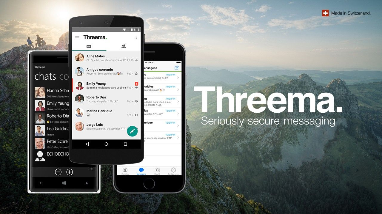 Threema - Secure Messengers - or not so Secure?