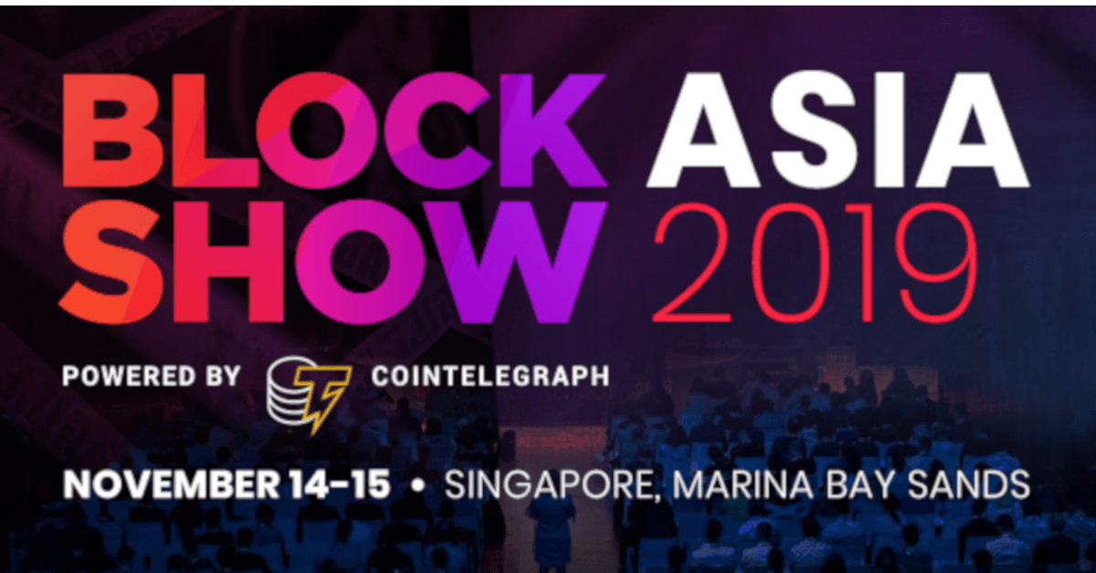 BlockShow Is Coming Back to Singapore with Head of Asia Gabriel Yang