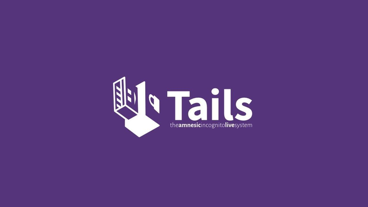 You're Encrypting — Tails is your OS