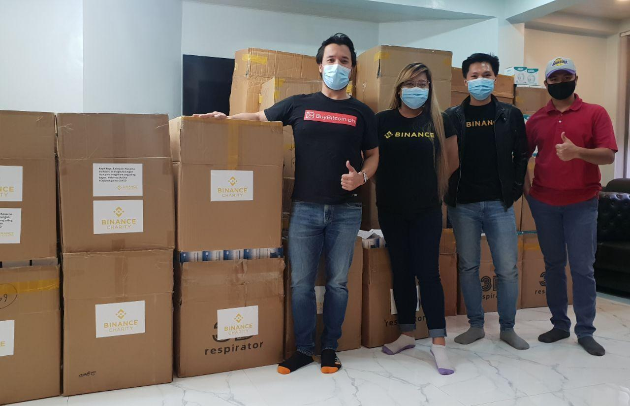 'Crypto Against COVID' in the Philippines - Binance Charity Foundation and Satoshi Citadel Industries