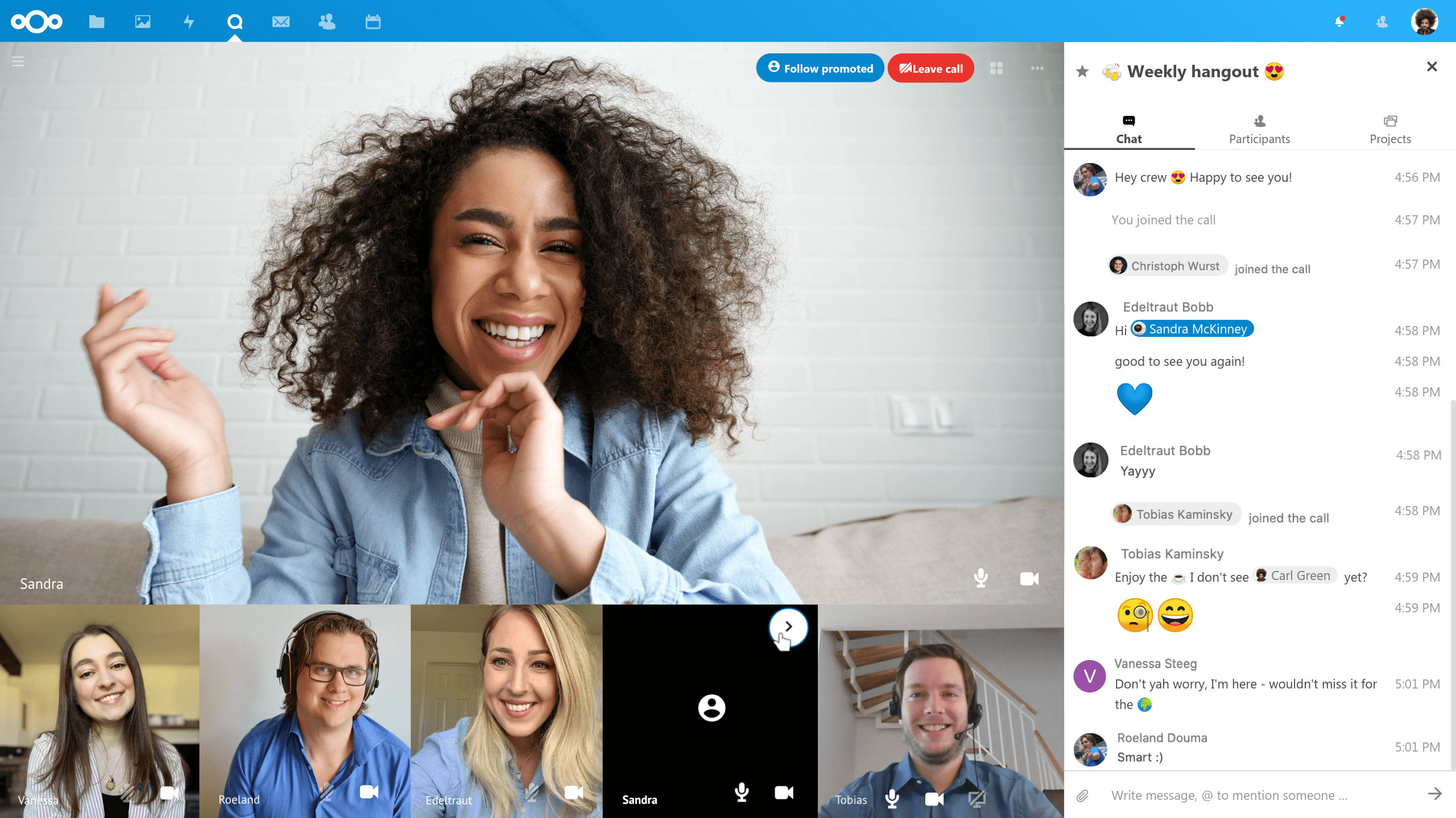 The 2020 review of Messaging Service Providers: Nextcloud Talk - Integrated & Self Hosted!