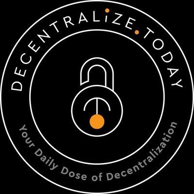 decentralize.today - your daily dose of decentralization