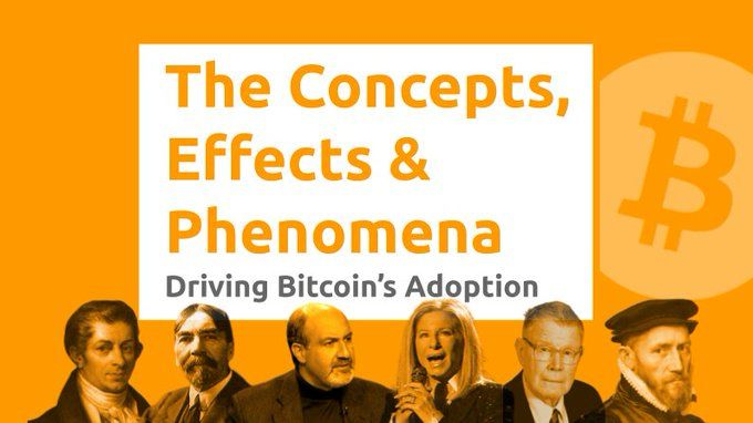 The Concepts, Effects, & Phenomena Driving Bitcoin Adoption