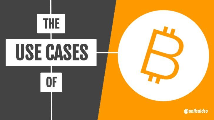 The Use Cases of Bitcoin