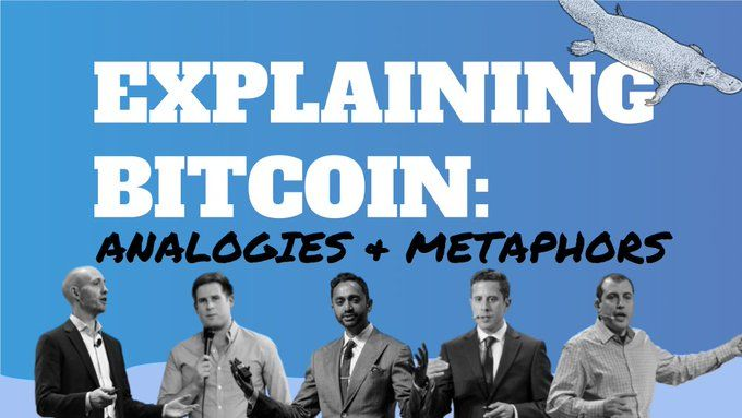 Explaining Bitcoin: Analogies and Metaphors