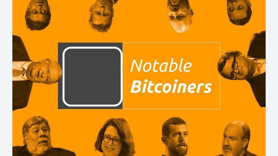 Notable Bitcoiners