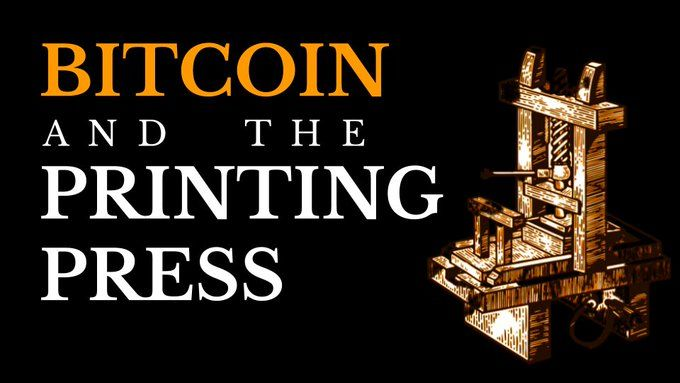 Bitcoin and the Printing Press