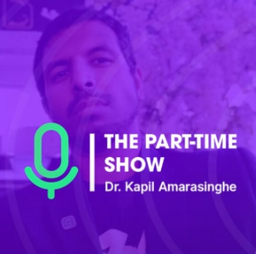 The Part-Time Show Podcast on decentralize.today - Medicine 2.0 with Ned Saleh - Sunday 7th March 2021