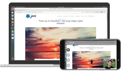 The 2021 review of Messaging Service Providers: Jami - a decentralized messenger